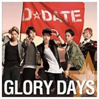 D☆DATE/GLORY DAYS 初回限定生産盤B 【CD】