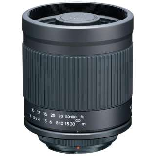 カメラレンズ ミラーレンズ 400mm F8 ニコンF ブラック [ニコンF /単焦点レンズ]