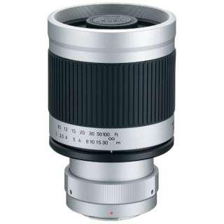 カメラレンズ ミラーレンズ 400mm F8 マイクロ4/3 ホワイト [マイクロフォーサーズ /単焦点レンズ]
