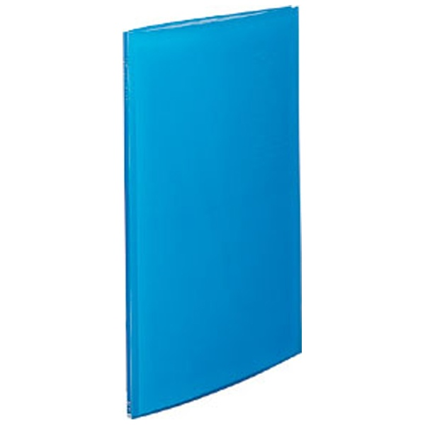 リヒトラブ リクエスト クリヤーブック A2タテ 20ポケット ブルー 業務用パック 1箱12冊:4冊3箱 G3117