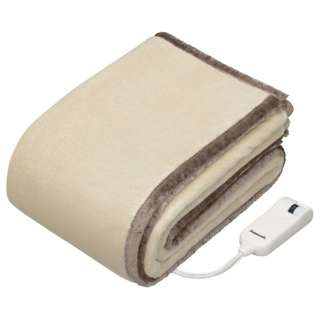 DB-RM3M 電気毛布 ベージュ [シングルサイズ /掛・敷毛布]