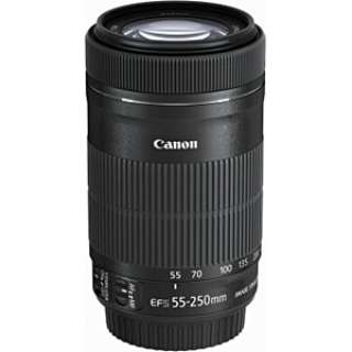 カメラレンズ EF-S55-250mm F4-5.6 IS STM APS-C用 ブラック [キヤノンEF /ズームレンズ]