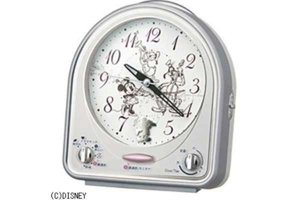 目覚まし時計おすすめ18選 セイコー 「ディズニータイム」 FD464S