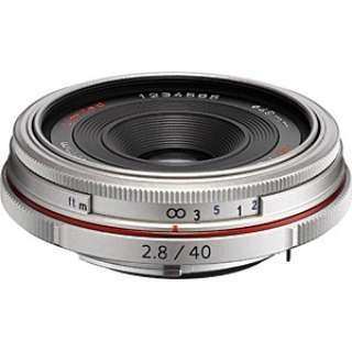 カメラレンズ HD PENTAX-DA 40mmF2.8 Limited APS-C用 シルバー [ペンタックスK /単焦点レンズ]