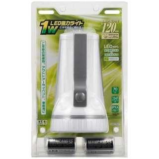 LED-P03W 懐中電灯 [LED /単1乾電池×4 /防水]