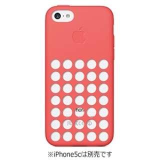 【純正】 iPhone 5c用 シリコンケース (ピンク)