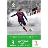 Xbox Live 3ヶ月+1ヶ月 ゴールド メンバーシップ FIFA 14 エディション【Xbox360】