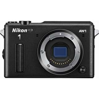 Nikon 1 AW1 ミラーレス一眼カメラ ブラック [ボディ単体]