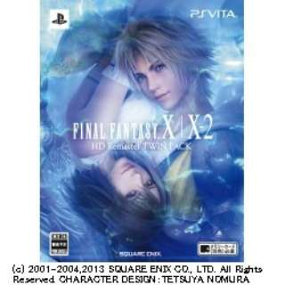 FINAL FANTASY X/X-2 HD Remaster TWIN PACK 【PS Vitaゲームソフト】