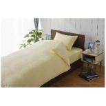 【ボックスシーツ】綿マイヤー セミダブルサイズ(綿100%/120×200×30cm/アイボリー)