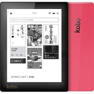 N514-KJ-PK-S-EP 電子書籍リーダー kobo aura