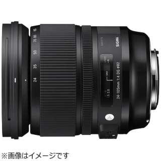 カメラレンズ 24-105mm F4 DG OS HSM Art ブラック [ニコンF /ズームレンズ]