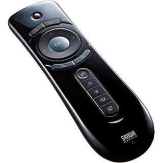MA-WPR9BK プレゼンテーションマウス ブラック  [ジャイロセンサー /14ボタン /USB /無線(ワイヤレス)]