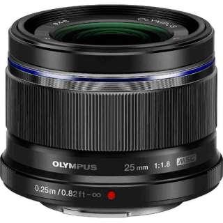 カメラレンズ 25mm F1.8 M.ZUIKO DIGITAL(ズイコーデジタル) ブラック [マイクロフォーサーズ /単焦点レンズ]