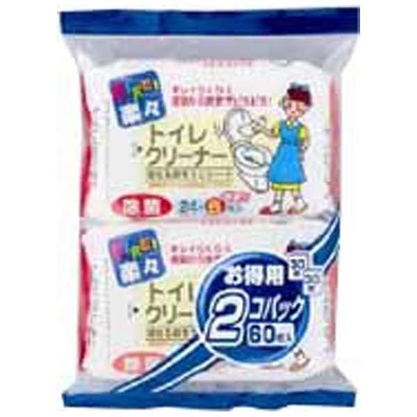 KIREI楽々トイレ除菌クリーナー 30枚×2個パック〔トイレ用洗剤〕