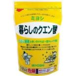 【ミヨシ】暮らしのクエン酸 330g [キッチン用洗剤]