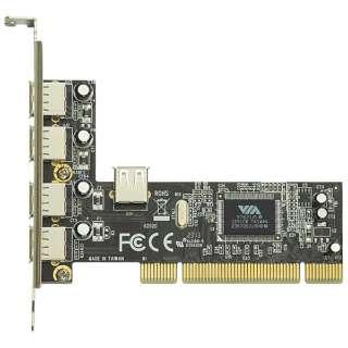 USB2.0(4ポート)増設用 PCIボード USB2.0V-P4-PCI