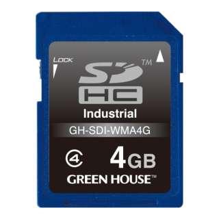 SDHCカード GH-SDI-WMAシリーズ GH-SDI-WMA4G [4GB /Class10]