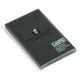 〔ビジネスカード〕 BASIS [名刺サイズ /40枚] ブラック 0001-PRNBC-BK-01