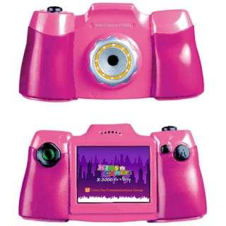 KIDS-CAMERA X3000 トイカメラ ピンク [デジタル式]