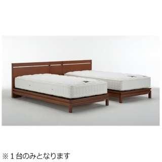 【フレームのみ】収納なし PMH-04[レッグ](セミダブルサイズ/チェリー)フランスベッド