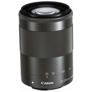 カメラレンズ EF-M55-200mm F4.5-6.3 IS STM グラファイト [キヤノンEF-M /ズームレンズ]