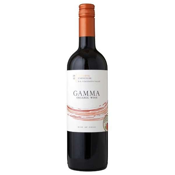ガンマ オーガニックカルメネール 750ml【赤ワイン】