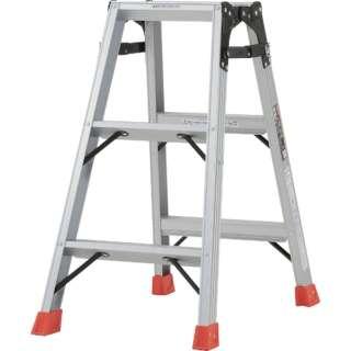 はしご兼用脚立 アルミ合金製脚カバー付 高さ0.81m TPRK090