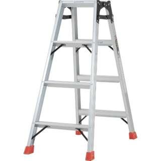 はしご兼用脚立 アルミ合金製脚カバー付 高さ1.11m TPRK120
