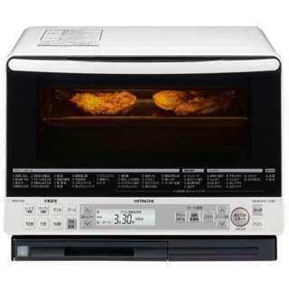 【アウトレット品】過熱水蒸気オーブンレンジ 「ヘルシーシェフ」(31L) MRO-NS8-W パールホワイト【生産完了品】
