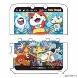 妖怪ウォッチ NINTENDO 3DS LL専用 カスタムハードカバー2 妖怪大集合Ver.【3DS LL】
