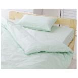 【まくらカバー】アイリスオーヤマ 標準サイズ(綿100%/43×63cm/パステルグリーン) CMP-4363