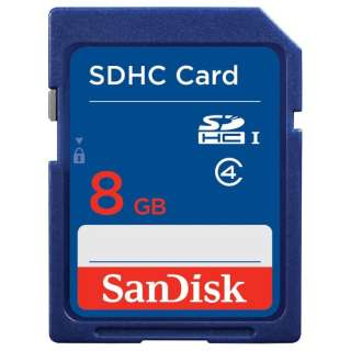 SDHCカード スタンダードシリーズ SDSDB-008G-J01 [8GB /Class4]