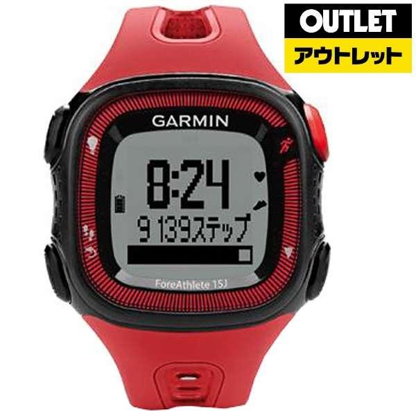 【アウトレット品】 【正規品】GPSマルチスポーツウォッチ ForeAthlete15J RedBlack 【生産完了品】