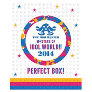 """THE IDOLM@STER M@STERS OF IDOL WORLD!!2014 """"PERFECT BOX!""""(完全初回生産限定盤) 【ブルーレイ ソフト】"""