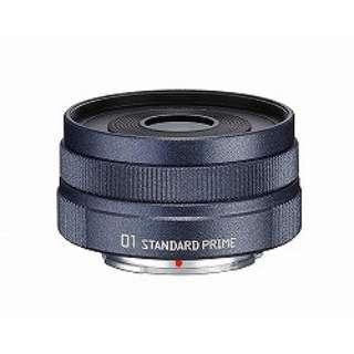 カメラレンズ 8.5mm F1.9 「01 STANDARD PRIME」【ペンタックスQマウント】(ガンメタル)