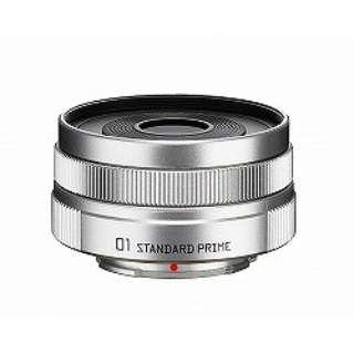 カメラレンズ 8.5mm F1.9 「01 STANDARD PRIME」【ペンタックスQマウント】(ブライトシルバー)