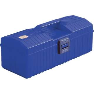 樹脂山型工具箱 ブルー YP350