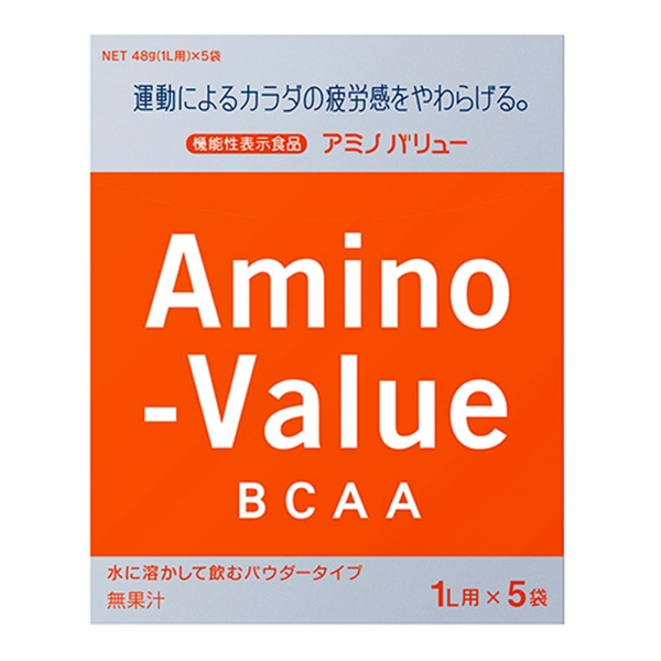 アミノバリュー パウダー8000 47g 5袋