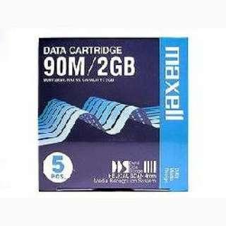 データカートリッジ5巻パック (90m/2GB) HS-4/90SXJ B5P