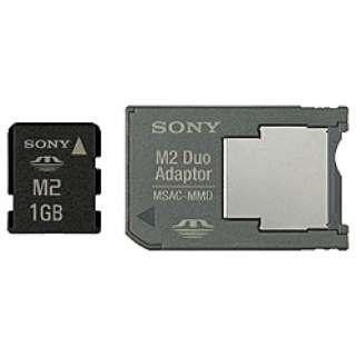 メモリースティック マイクロ(M2) MS-A1GD [1GB]