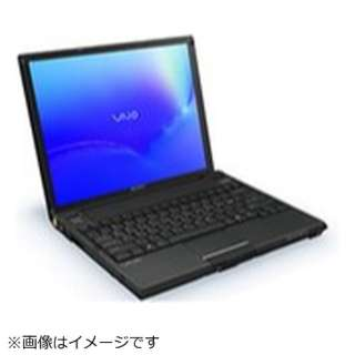 海外仕様 VAIO G118 Carbon Fibre Notebook ノートパソコン [12.1型] VGN-G118GN/BE1