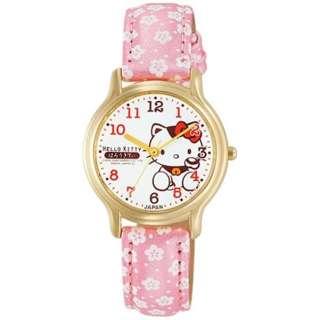 【日本製】シチズン時計 Q&Q 腕時計 HELLO KITTY ハローキティ 0007N003 【正規品】