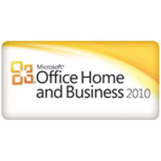 【プレインストール版】Office Home and Business 2010 MSNYF0001