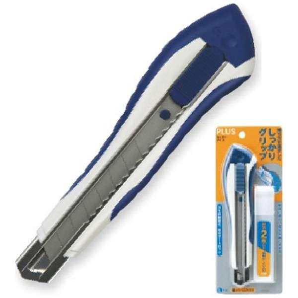 [カッターナイフ] カッターナイフL ブリスターパック入 替刃付 CU-005