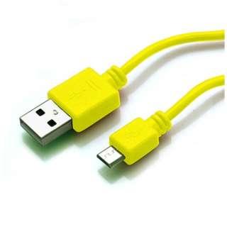 micro USB充電・データ転送ケーブル1Mブラック [1.0m]