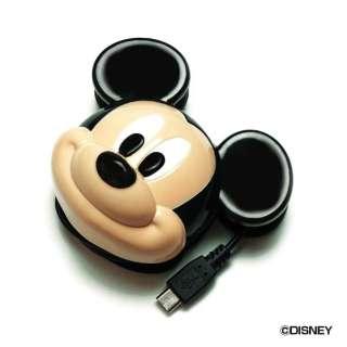 [micro USB] ディズニーダイカットACミッキーマウス