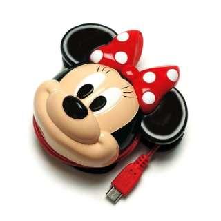 [micro USB] ディズニーダイカットACミニーマウス