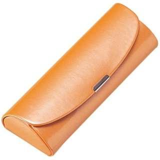 セミハード メガネケース(オレンジ)2806-05
