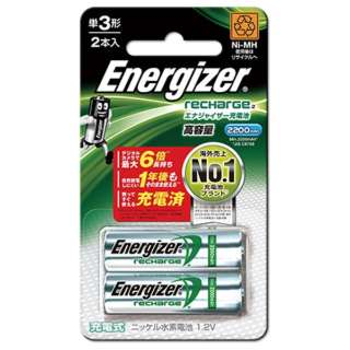 HR-AA-EH2BPA 単3形 充電池 Energizer(エナジャイザー) [2本]